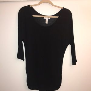 Black 3/4 length size Small